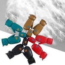 Перчатки для велоспорта Aegismax, перчатки для велосипедного велосипеда, ветрозащитные перчатки с гусиным пухом на открытом воздухе, походные перчатки для детей/взрослых