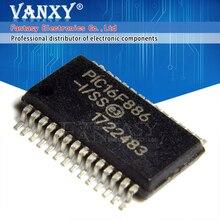 2PCS PIC16F886 I/SS SSOP PIC16F886 SSOP28 16F886 SSOP 28 SMD nuovo e originale