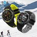 SMAWATCH M7C Смарт-часы, умные часы, GPS, Wi-мужчины женщины 2021 с компасом барометром высота полный сенсорный Фитнес Спорт на открытом воздухе умные ...