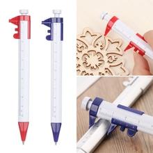Gauge-Ruler Pen-Pointer Multifunction-Pen 1pcs Scale Vernier-Caliper Office-Supplies