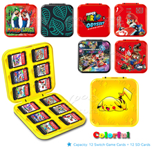 PC Case Switch-Accessories Storage-Box Game-Cards Hard-Cover Protect Nintendo for 24-In-1
