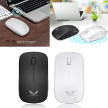 цена 2.4GHz Wireless Optical USB Gaming Mouse Mice 1600DPI For Computer PC Laptop wireless mouse Laptops accessories