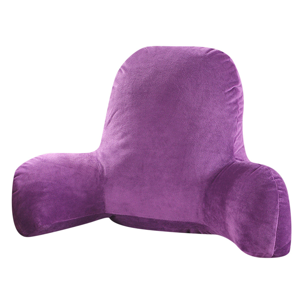 Husband Pillow and Back Pillow for Backrest and Lumbar Support with Arms and Zipper 4