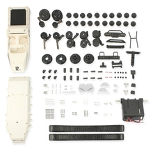 Model-Toy Rc-Tank-Kit Tracked Vehicle Remote-Control Drift 1:12-Scale Diy-Assembly Climbing
