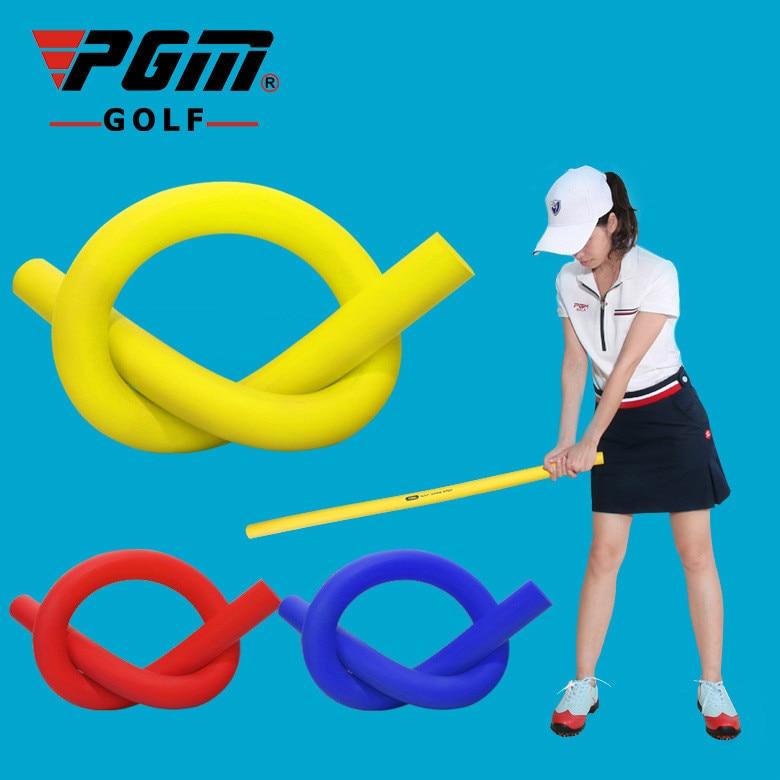 PGM Golf Multifunctional Powerstick Swing Exerciser Soft-stick Training Golf Exerciser HGB008