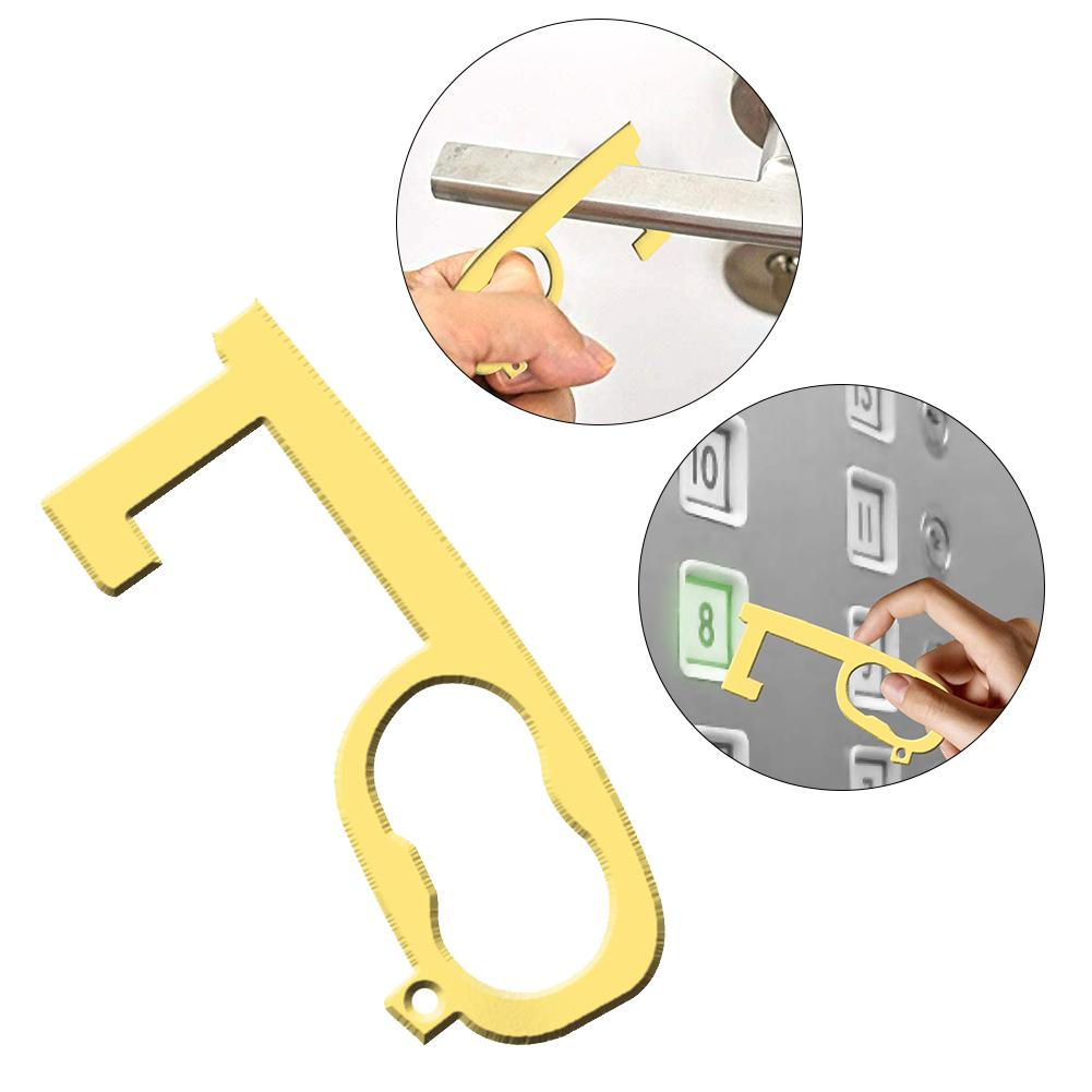 Door Opener Portable Convenient Safety Hygienic Handle Opening Loop Hook For Keeping Hands Clean