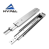 HVPAL 750 mm 30 inches full extension 227 kg heavy duty ball bearing industrial drawer slides rails