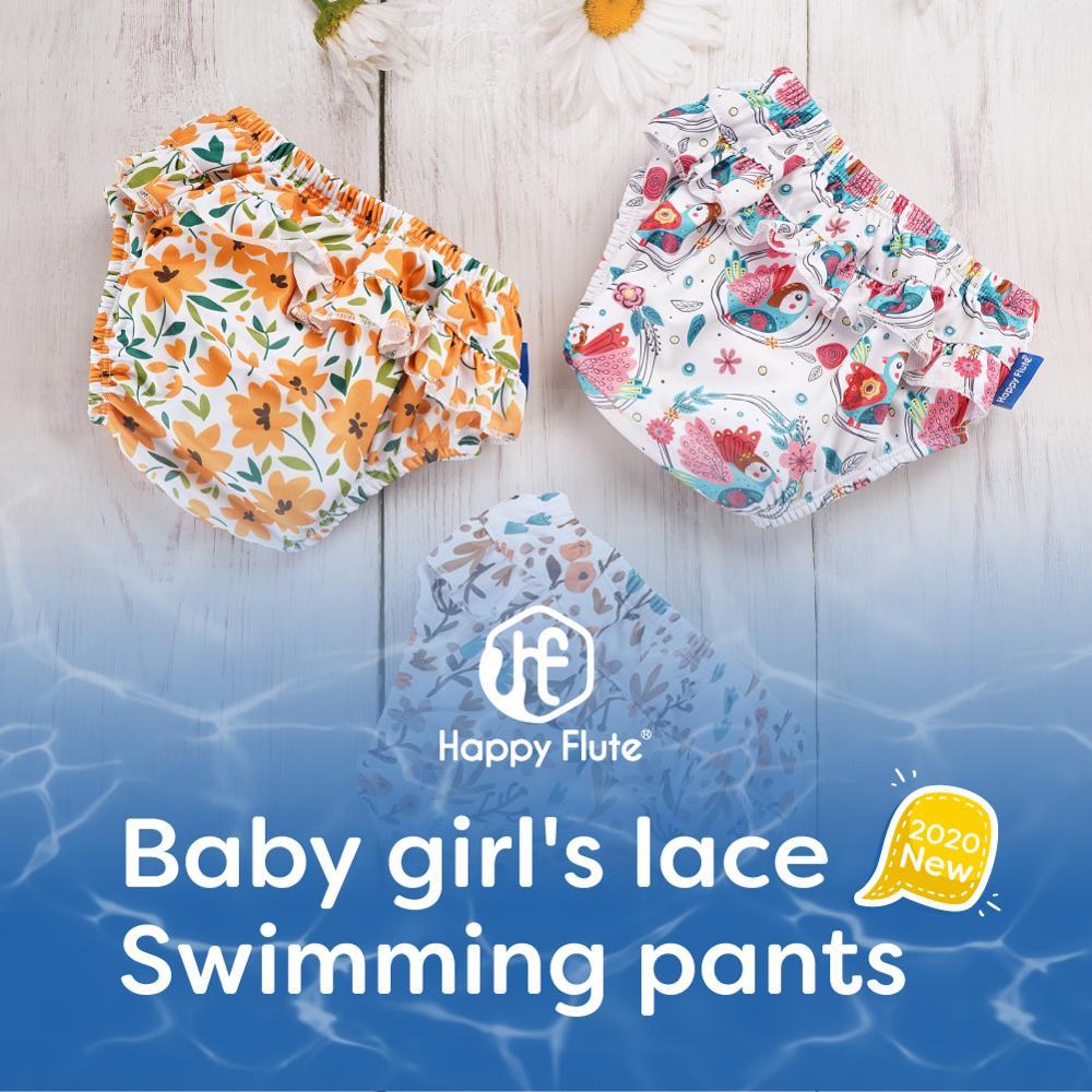 Happyflute, 3 размера, Детские герметичные пеленки для новорожденных высокого качества для девочек с героиней мультфильма подгузник из набивной ...