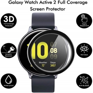 Image 4 - 100PCS 3D Soft Screen Protector for Samsung Galaxy Watch Active 2 40mm 44mm Full Cover Protective Film (No Tempered Glass)