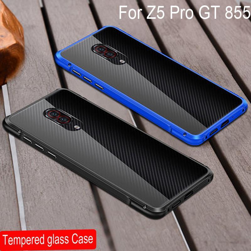 Image 5 - Di lusso Magnetica Adsorbimento per il Caso di Lenovo Z5 Pro copertura In Vetro Temperato Del Respingente Del Metallo Della Cassa Antiurto per Lenovo Z5 Pro GT coperturaParacolpi per telefono   -