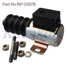 Rp2370b RP-2370B 12v base/push/pull controle solenóide para murphy