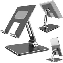 Tablet Stand Adjustable Folding Holder For Phone iPad Xiaomi iPhone Huawei Samsung Honor