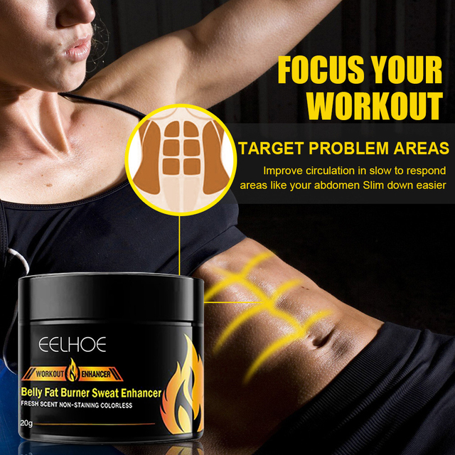 20g Abdominal Muscle Cream Anti Cellulite Slimming Fat Burning Cream Body Firming Strengthening Belly Muscle Tightening 6