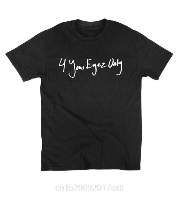 Mens t shirts fashion 4 Your Eyez Only J Cole T Shirt Cotton O NECK short sleeved t-shirt Summer High quality tshirt
