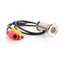 """OWGYML дверной глазок с камерой 1/"""" 480TVL CMOS 3,6 мм мини камера наблюдения CCTV дверной глазок для камеры наблюдения двери глазок PAL/NTSC"""