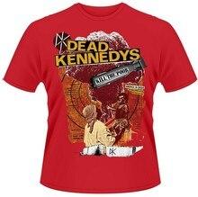 Camiseta nova camisa de algodão camiseta roupas de rua moda dead kennedys matar os pobres