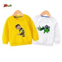 toddler boys sweatshirts Ben10 Baby boy hoodie Cotton Kids Hoodies Children Clothes Long Sleeve Sweatshirts Toddler Sportswear