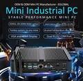 Industrie Fanless Mini Robuste Computer Desktop-PC Intel Core i5 8265U i7 8565U 2 * DDR4 2 * COM Windows 10 pro Linux VGA HDMI WiFi