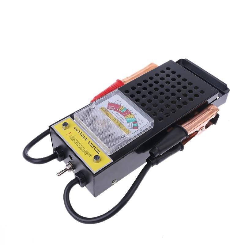 New Car Motorcycle Battery Tester Tool 6V 12V Portable 100Amp Metal Mechanics Tool Battery Load Tester