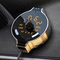 Автомобильный беспроводной Bluetooth FM-передатчик, автомобильный комплект громкой связи, mp3-плеер, дисплей напряжения аккумулятора, поддержка ...