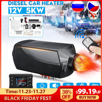 5KW 12V 5000W Air Autonomous Diesel Heater car heater Parking Heat With Remote Control for RV Motorhome Trailer Trucks Boat Car car autonomous heater 12v 24v 5kw diesel air heater parking fuel heater for trucks boat bus auxiliary heater in electric heaters