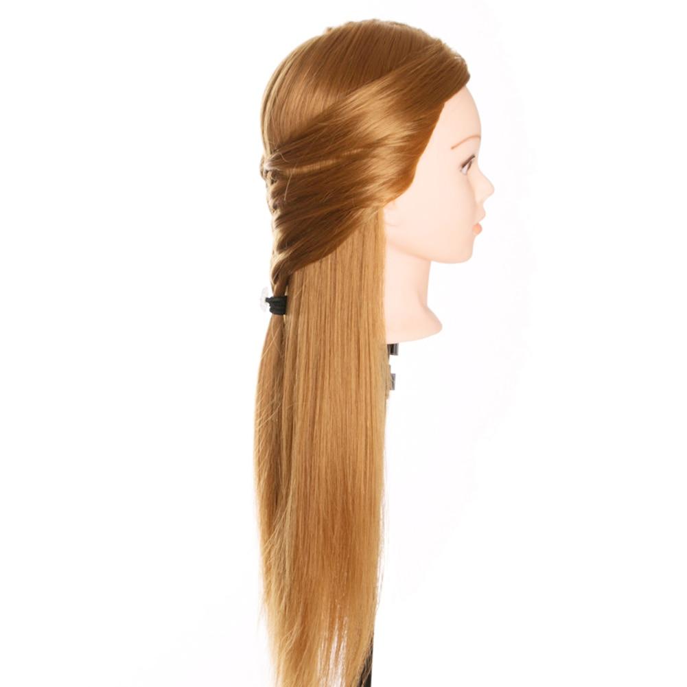 Newly Hairdressing Dolls Head Long Hair Practice Training Professional Salon Styling CTN88
