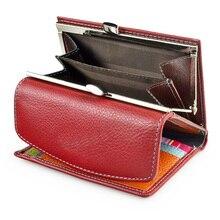 Beth Cat женский короткий тонкий кошелек из натуральной кожи, Дамский мини кошелек с отделением для карт, кошельки для женщин, маленькие бумажники, сумка для денег для девушек