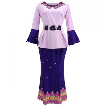 S-5XL בתוספת גודל אפריקאי ארוך שמלות לנשים 2020 בגדים אפריקאים אפריקה שמלת דאשיקי גבירותיי בגדי אנקרה אפריקה שמלה