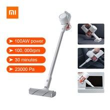 Xiaomi mijia handheld aspirador de pó para casa carro doméstico sem fio varrendo 23000pa ciclone sucção multifuncional escova
