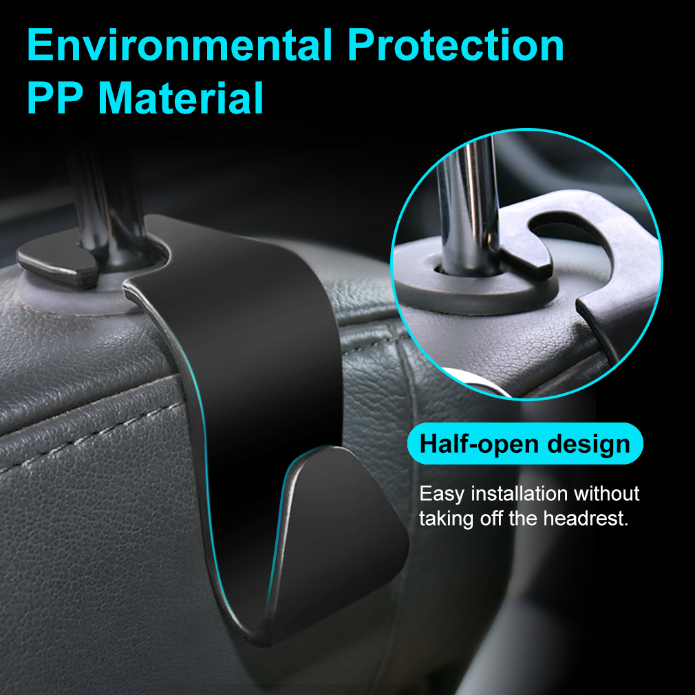 1pcs Auto Car Hooks Hangers Organizer Universal for Renault bmw audi lada opel skoda