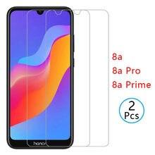 2Pcs Für Honor 8a prime 8s 8c 9X Pro 9A 9C 10i Screen Protector Gehärtetem Glas auf Huawei ehre 9 10 lite Schutz Glas Film