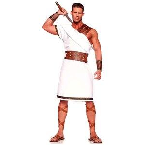 Image 2 - โบราณอียิปต์เครื่องแต่งกายผู้ใหญ่ผู้หญิงผู้ชายCarnivalฮาโลวีนชุดแฟนซีเสื้อผ้าโรมันทหารชุดคอสเพลย์
