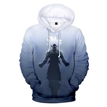 DRAGON BALL Anime Sweatshirt Hoodies Men And Women Streetwear 3D Plus Size 4XL Merchandise Fashion Clothing