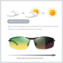 Sunglasses Night-Vision Polarized Yellow And Clear Men for Daytime Tint Hd-Lens Copper