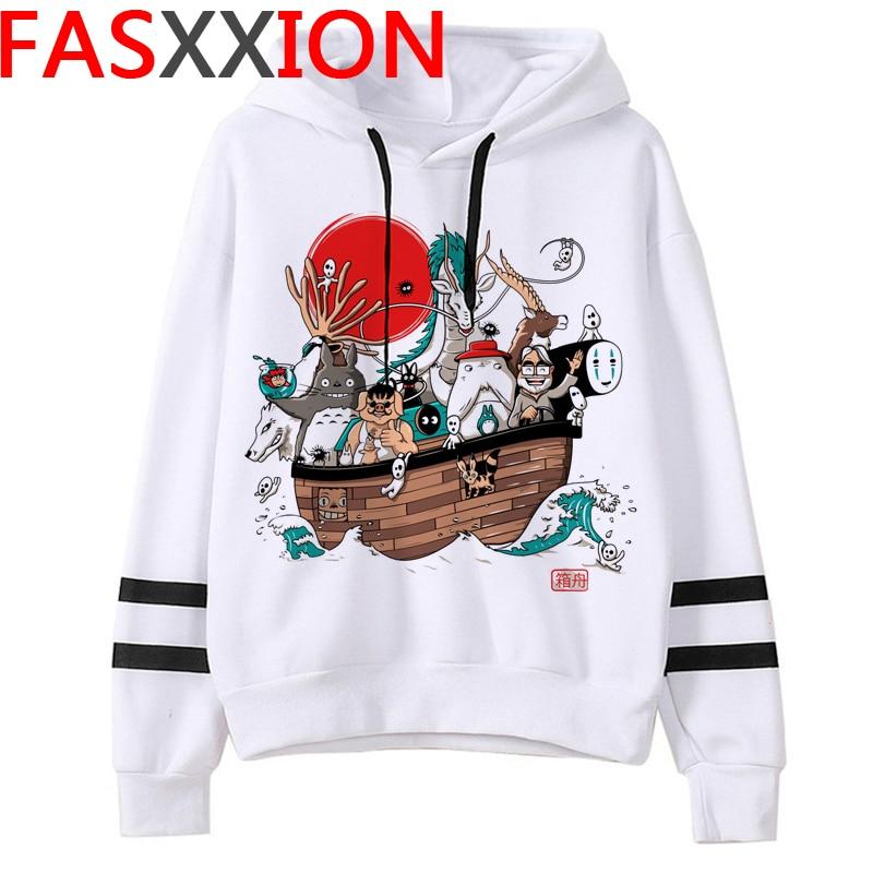 Totoro Studio Ghibli hoodies women streetwear grunge femme hoody sweatshirts hip hop streetwear 20
