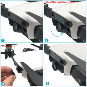 Image 3 - Neewer 3 개 (ND4, ND8, ND16 필터) DJI Mavic Air Drone Quadcopter (검정색) 용 Pro 중립 밀도 필터 키트
