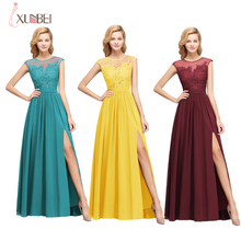 Candy Colors New Bridesmaid Dress Wedding Party Sexy High Sp