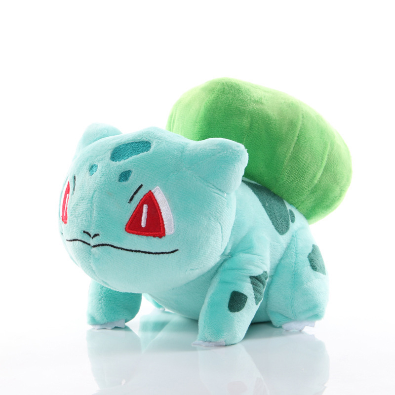 Anime pokemoned pikachued Bulbasaur Lapras Charmander Psyduck  Squirtle Plush Toy Stuffed doll Christmas Gift For kid 2