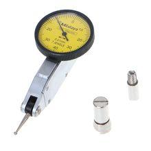Indicatore di livello Bilancia Precisione Metrica Guide A Coda di Rondine 0 0.8 millimetri Dial Indicator Test