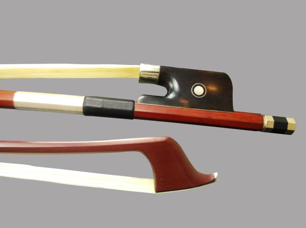 Wtsfwf 4/4 3/4 French Best Pernambuco Brazilwood Double Bass Bow 5pcs/lot