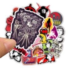 50pcs Pack Cool Movies Kill Bill Stickers Waterproof PVC Skateboard Suitcase Phone Luggage Guitar Laptop Stickers Motorcycle Toy
