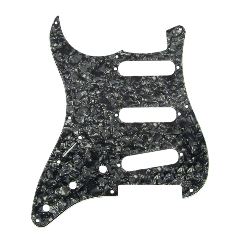 Pickguard Guitar-Parts Electric-Guitar Strat for Style Vintage with Pure-Aluminum-F 8-Hole