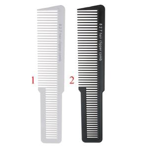Пластиковый парикмахерский плоский Топ шампунь для волос Detangler машинка для стрижки волос Расческа для укладки