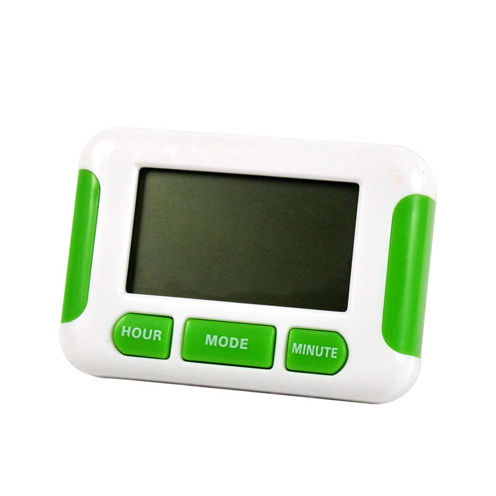 10 個卸売磁石アラーム時計電子 5 グループカウントダウン研究シャワー調理壁デスクトップキッチンベルデジタル時間タイマー