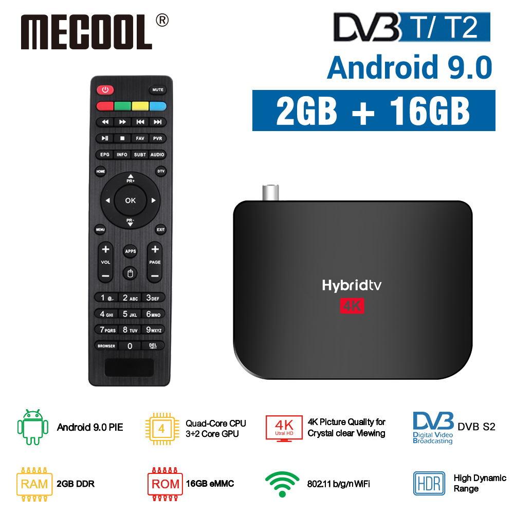 MECOOL 2020 NEW M8S Plus DVB T T2 Android 9 0 TV Box Amlogic S905X2 4K H 265 2 4G WiFi Set Top Box