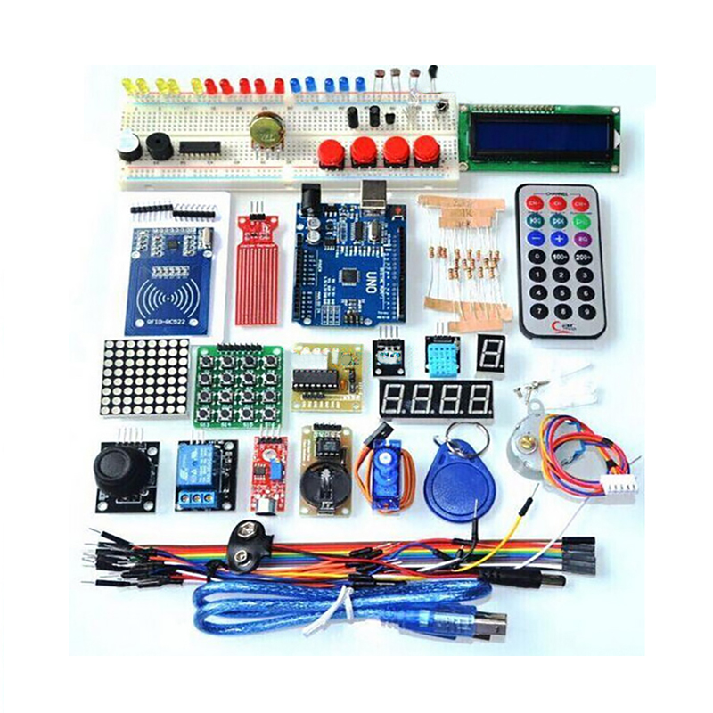 Upgraded Advanced Version Starter Kit The RFID Learn Suite Kit 1602 LCD For Arduino UNO R3