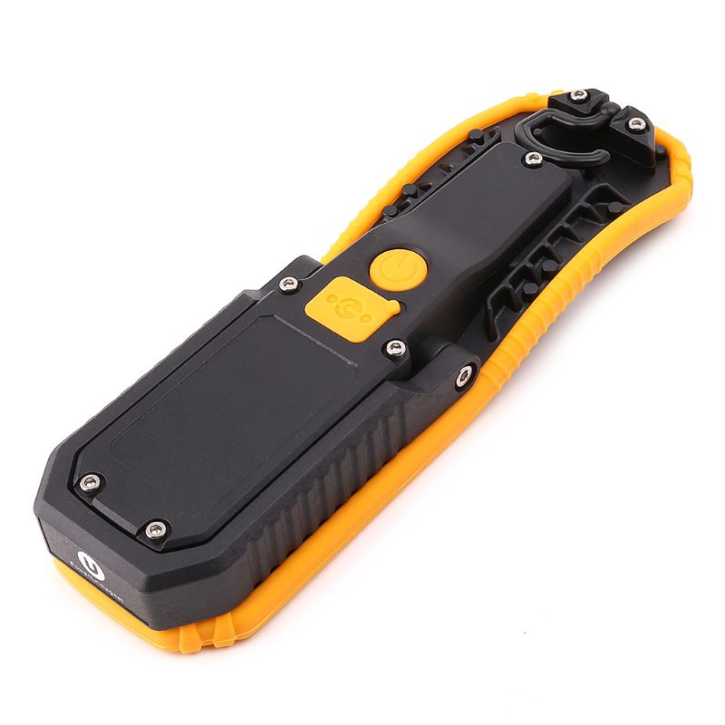 60W Portable LED Work Light Magnetic COB Flashlight Torch With Hanging Hook For Repair Outdoor Camping E65B
