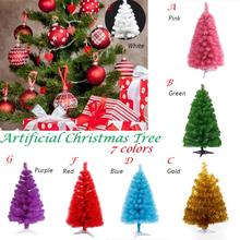 60cm Artificial Christmas Tree Snowflake Xmas Plastic New Year Home Ornaments Desktop Decorations