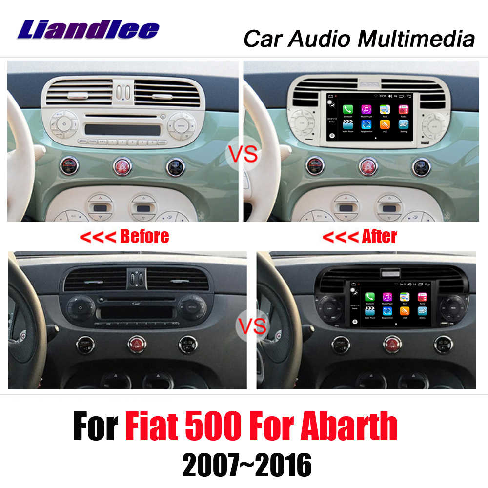 Car Android 8.0 Up Multimedia Player For Fiat 500/Abarth 2007 2016