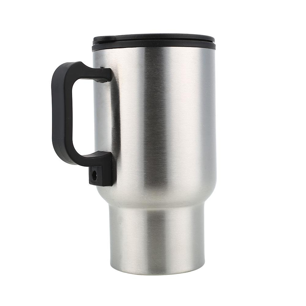 Tea Cup Insulated Car Thermal Insulated Cup Thermos Heated Kettle Mug Drinks Coffee 12V Electric